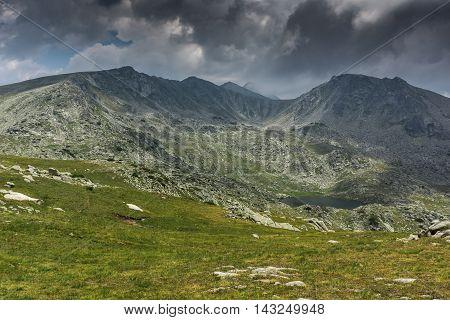Amazing view of Spanopolski chukar peak, Pirin Mountain, Bulgaria