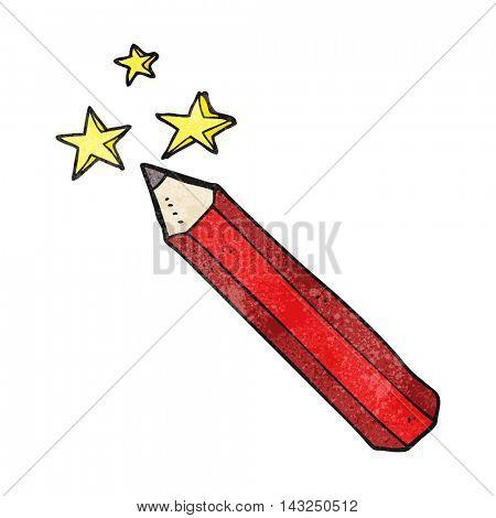 freehand drawn texture cartoon magic pencil