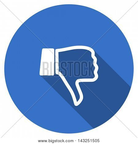 dislike vector icon