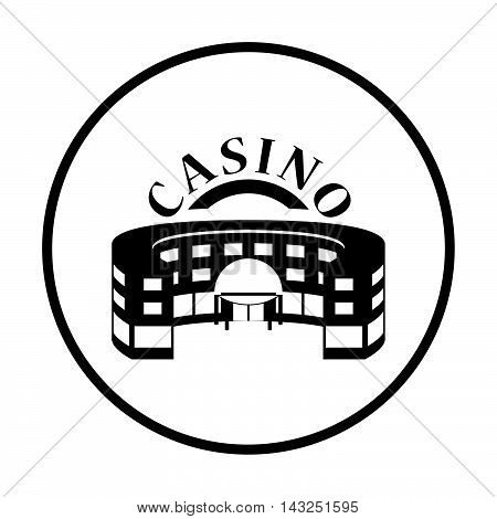 Casino Building Icon