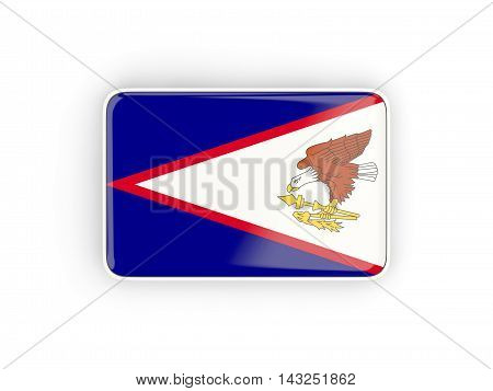 Flag Of American Samoa, Rectangular Icon