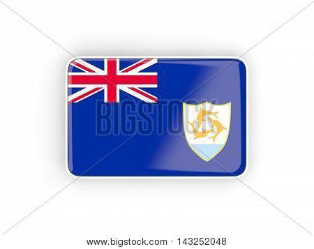 Flag Of Anguilla, Rectangular Icon