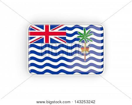 Flag Of British Indian Ocean Territory, Rectangular Icon