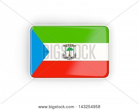 Flag Of Equatorial Guinea, Rectangular Icon