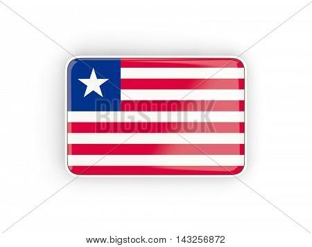 Flag Of Liberia, Rectangular Icon