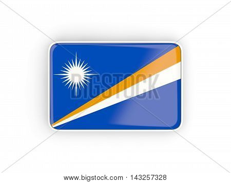 Flag Of Marshall Islands, Rectangular Icon