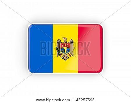 Flag Of Moldova, Rectangular Icon