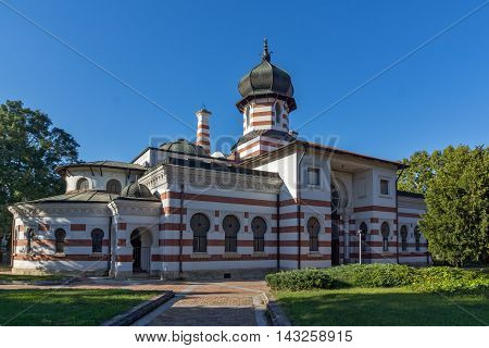 Amazing view of Old Church in the center of City of Pleven, Bulgaria