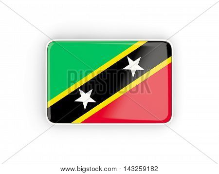 Flag Of Saint Kitts And Nevis, Rectangular Icon