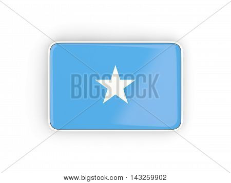 Flag Of Somalia, Rectangular Icon