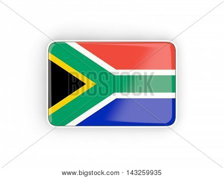 Flag Of South Africa, Rectangular Icon