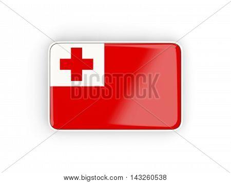 Flag Of Tonga, Rectangular Icon