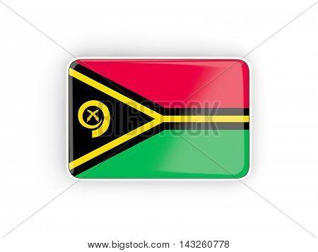 Flag Of Vanuatu, Rectangular Icon
