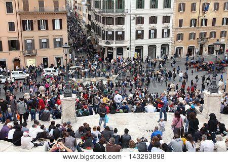 Spanish Square, Rome