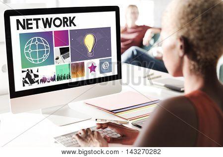 Website Design UI Software Media WWW Concept