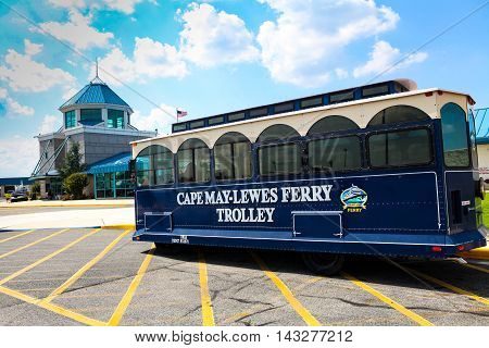 Cape May - Lewes Ferry Trolley