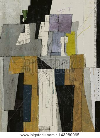 Abstract which consists of a plurality of figures