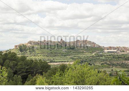 Horta de Sant Joan from the convent