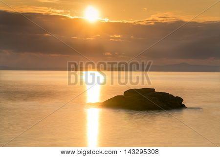 a long rock watch the sun set