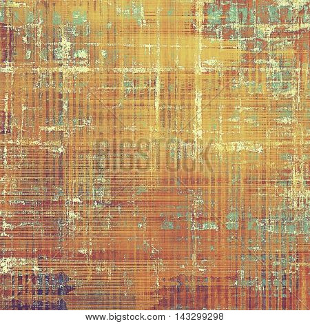 Stylish grunge texture, old damaged background. With different color patterns: yellow (beige); brown; blue; red (orange); purple (violet); pink
