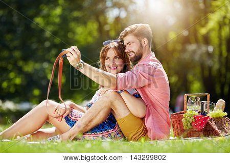 Romantic Selfie