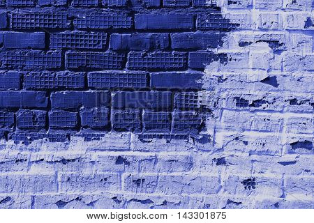 Brickwork, brick, pattern of old brick surfaced, rough brick wall, brickwall, brick house, blue bricks, shades of blue, blue brickwork, brick wall, painted brick wall