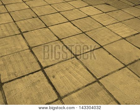 Concrete Sidewalk Pavement Sepia