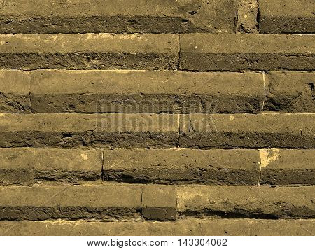Roman Wall Sepia
