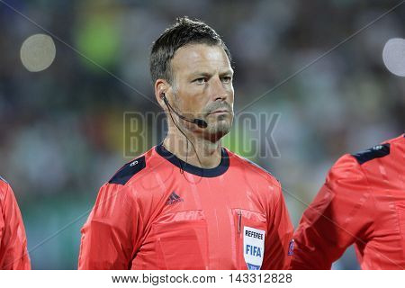 Mark Clattenburg Football Referee