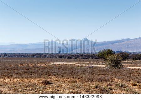 Road To Nowhere - Graaff-reinet Landscape