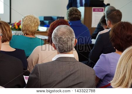 People At The Conference Hall