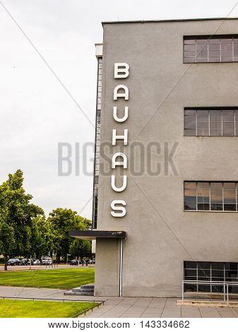 Bauhaus Dessau (hdr)