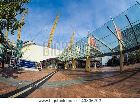 Millennium Dome In London (hdr)