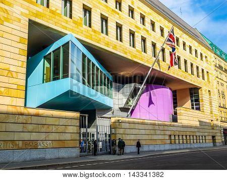 British Embassy Berlin (hdr)