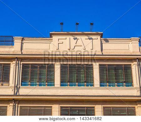 Fiat Lingotto Turin (hdr)
