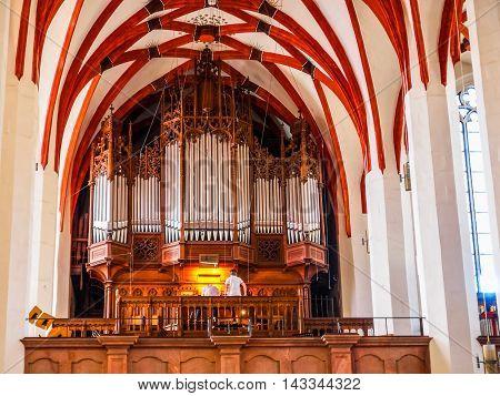 Thomaskirche Leipzig (hdr)