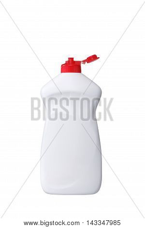 Detergent On A White Background, Isolated.