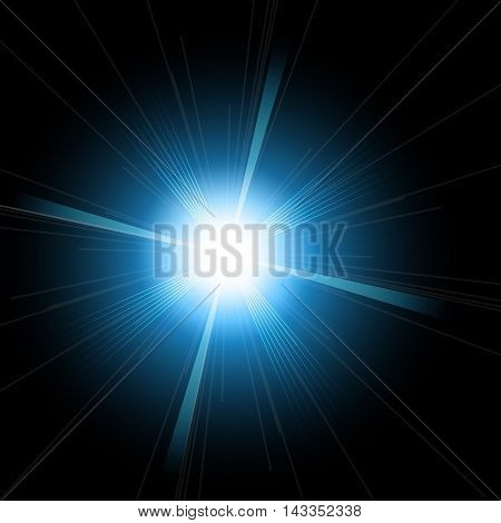 Optical lens flare glare lights super high resolution. Lighting effects of flash.