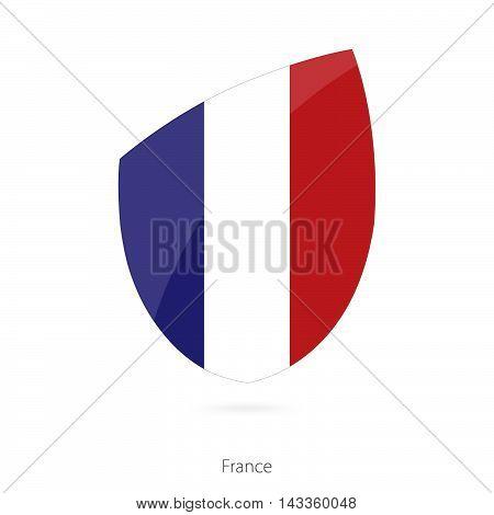 Flag Of France. France Rugby Flag.