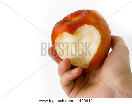 Apple With Heart 02
