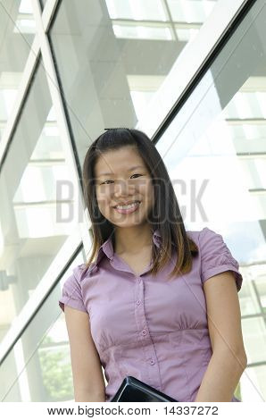 One Asian Business Women