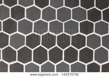 Abstract honeycomb on the wall, Background and Texture.