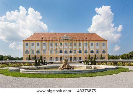 Schloss Hof Castle With Baroque Garden, Austria