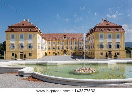 The Rear Of The Castle Schloss Hof, Austria