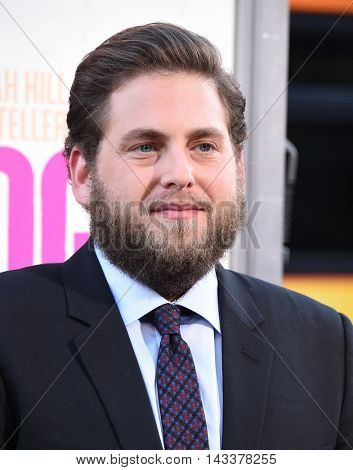 LOS ANGELES - AUG 15:  Jonah Hill arrives to the