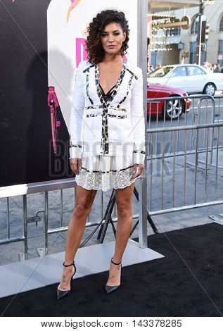 LOS ANGELES - AUG 15:  Jessica Szohr arrives to the