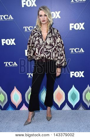 LOS ANGELES - AUG 08:  January Jones arrives to the FOX Summer TCA Party 2016 on August 08, 2016 in West Hollywood, CA