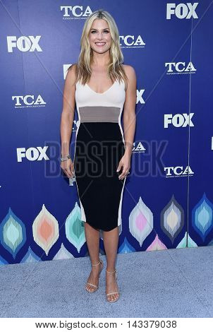 LOS ANGELES - AUG 08:  Ali Larter arrives to the FOX Summer TCA Party 2016 on August 08, 2016 in West Hollywood, CA