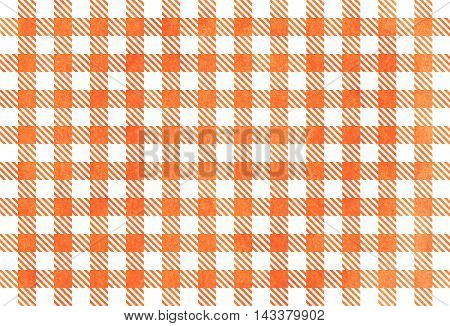 Orange Checked Texture.