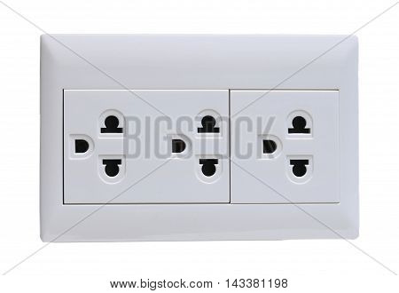 Socket. On A White Background
